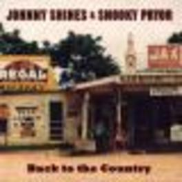 BACK TO THE COUNTRY 180GR VINYL JOHNNY SHINES, Vinyl LP