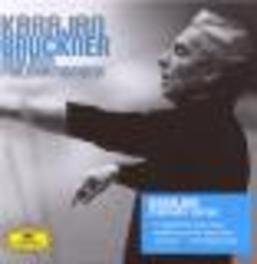 9 SYMPHONIES BERLINER PHILHARMONIKER/HERBERT VON KARAJAN Audio CD, A. BRUCKNER, CD