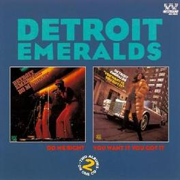 YOU WANT IT, YOU GOT IT Audio CD, DETROIT EMERALDS, CD