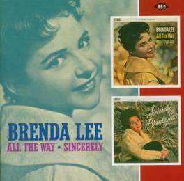 ALL THE WAY/SINCERLY 2 ON 1, 1961 & 1962 ALBUMS Audio CD, BRENDA LEE, CD