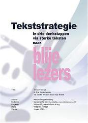 Tekststrategie
