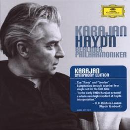 6 PARIS & 12 LONDON SYMPH BERLINER PHILHARMONIKER/HERBERT VON KARAJAN Audio CD, J. HAYDN, CD