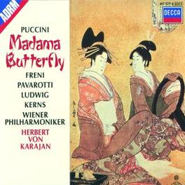 MADAMA BUTTERFLY PAVAROTTI/FRENI/LUDWIG/WP/KARAJAN Audio CD, G. PUCCINI, CD