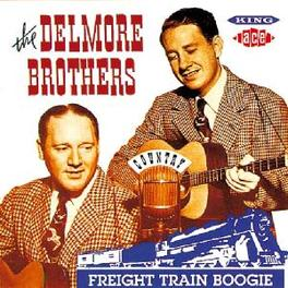 FREIGHT TRAIN BOOGIE Audio CD, DELMORE BROTHERS, CD