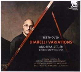 DIABELLI VARIATIONS ANDREAS STAIER, CD
