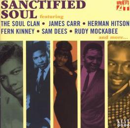 SANCTIFIED SOUL 26 DEEP SOUL TRACKS Audio CD, V/A, CD