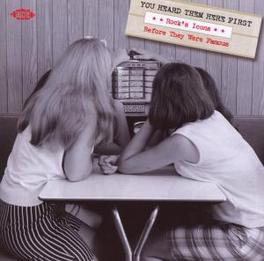 YOU HEARD THEM HERE FIRST *FIRST RECORDINGS BY FAMOUS OR INFLUENTIAL ARTISTS* Audio CD, V/A, CD