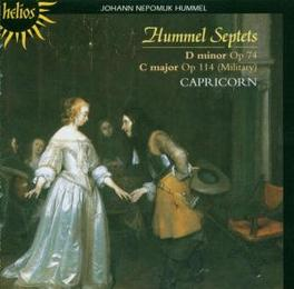 SEPTETS CAPRICORN Audio CD, J.N. HUMMEL, CD