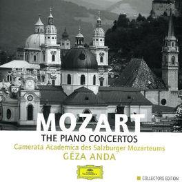 PIANO CONCERTOS CAMERATA ACADEMICA DES SALZBURGER MOZART/ ANDA Audio CD, W.A. MOZART, CD