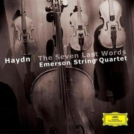 SEVEN LAST WORDS EMERSON STRING QUARTET Audio CD, J. HAYDN, CD