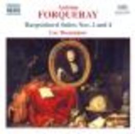 HARPSICHORD SUITES VOL.2 W/LUC BEAUSEJOUR A. FORQUERAY, CD