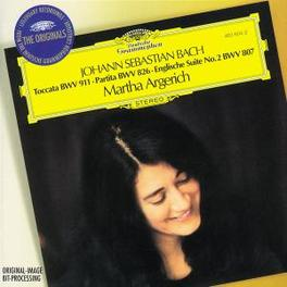 TOCCATA BWV911/PARTITA ...BWV826/W/MARTHA ARGERICH Audio CD, J.S. BACH, CD