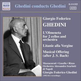 GHEDINI CONDUCTS GHEDINI SCARLATTI ORCHESTRA NAPLES/GHEDINI Audio CD, GHEDINI, CD