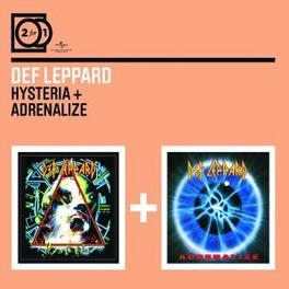 HYSTERIA / ADRENALIZE 2 FOR 1 SERIE Audio CD, DEF LEPPARD, CD