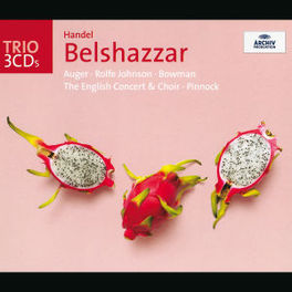 BELSHAZZAR W/R.JOHNSON, ENGLISH CONCERT/PINNOCK Audio CD, G.F. HANDEL, CD
