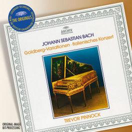 GOLDBERG VARIATIONS W/TREVOR PINNOCK Audio CD, J.S. BACH, CD