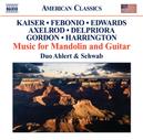 MUSIC FOR MANDOLIN & GUIT DUO AHLERT & SCHWAB