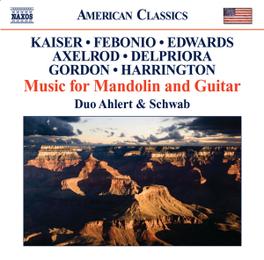 MUSIC FOR MANDOLIN & GUIT DUO AHLERT & SCHWAB F. KAISER, CD