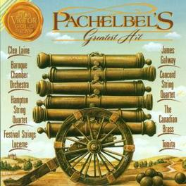 GREATEST HITS ISAO TOMITA BAROQUE CHAMBER ORCH. Audio CD, J. PACHELBEL, Audio Visuele Media