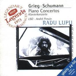 PIANO CONCERTO IN A MINOR W/RADU LAPU-PIANO, LONDON S.O., ANDRE PREVIN Audio CD, GRIEG/SCHUMANN, CD