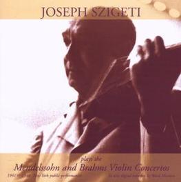 VIOLIN CONCERTOS /BRUNO WALTER, MITROPOULOS/SZIGETI Audio CD, MENDELSSOHN/BRAHMS, CD