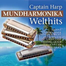MUNDHARMONIKA WELTHITS Audio CD, CAPTAIN HARP, CD
