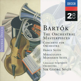 GREAT MASTERPIECES GEORG SOLTI/CHICAGO SYM.ORCHESTRA/RUBEN GONZALEZ Audio CD, B. BARTOK, CD