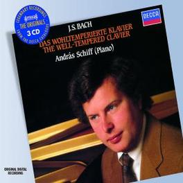 WELL-TEMPERED KLAVIER ANDRAS SCHIFF Audio CD, J.S. BACH, CD