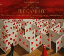 THE GAMBLER - MOSCOW 1974 MASLENNIKOV/KASRASHVILI/OGNIVTSIEV Audio CD, S. PROKOFIEV, CD