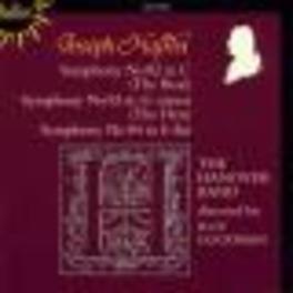 SYMPHONIES NO.82,83,84 HANOVER BAND/ROY GOODMAN Audio CD, J. HAYDN, CD
