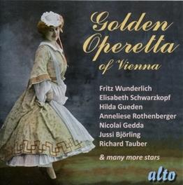 GOLDEN OPERETTA OF VIENNA W/FRITZ WUNDERLICH/ELISABETH SCHWARZKOPF/HILDA GUEDEN Audio CD, V/A, CD