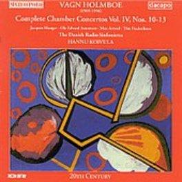 CHAMBER CONCERTOS VOL. 4 DANISH RADIO SINFONIETTA VAGN HOLMBOE, CD