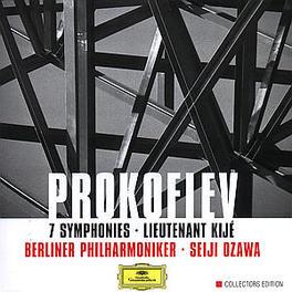 7 SYMPHONIES/LIEUT. KIJE BERLINER PHIL./SEIJI OZAWA Audio CD, S. PROKOFIEV, CD