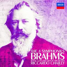 SYMPHONIES -COMPLETE- ROYAL CONCERTGEBOUW ORCHESTRA/RICCARDO CHAILLY Audio CD, J. BRAHMS, CD