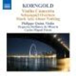 VIOLIN CONCERTO QUINT/ORQESTA SINFONICA DE MINERIA/PRIETO Audio CD, E.W. KORNGOLD, CD
