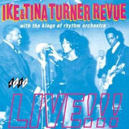 IKE & TINA TURNER REVUE LIVE! Audio CD, TURNER, IKE & TINA, CD