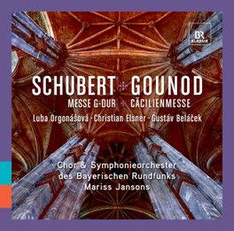MESSE G-DUR/CACILIENMESSE S.O. & CHOR DES BAYERISCHEN RUNDFUNKS/JANSONS /AKL 2018 SCHUBERT/GOUNOD, CD