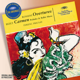 OVERTURES/CARMEN BERLINER PHILHARMONIKER/FERENC FRICSAY Audio CD, ROSSINI/BIZET, CD