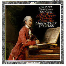 CLARINET CONCERTO/OBOE CO ANTHONY PAY/MICHEL PIGUET/CHRISTOPHER HOGWOOD/ACADEMY O Audio CD, W.A. MOZART, CD