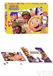 Maya 2 - Puzzel en poster