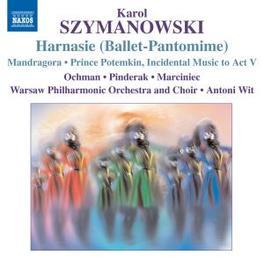 HARNASIE WARSAW P.O./ANTONI WIT Audio CD, K. SZYMANOWSKI, CD