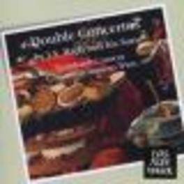 DOUBLE CONCERTOS GUSTAV LEONHARDT Audio CD, J.S. BACH, CD