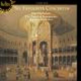 SIX FAVOURITE CONCERTOS PARLEY OF INSTRUMENTS BAROQUE Audio CD, T. ARNE, CD