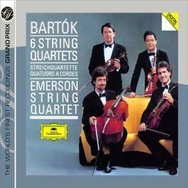 STRING QUARTETS -COMPLETE EMERSON STRING QUARTET Audio CD, B. BARTOK, CD