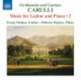 MUSIC FOR GUITAR &.. FRANZ HALASZ/DEBORA HALASZ Audio CD, CARULLI, F. & G., CD