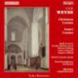 CHRISTMAS & EASTER CANTAT C.E.F. WEYSE, CD
