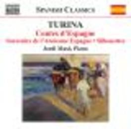 CONTES D'ESPAGNE/SOUVENIR JORDI MASO Audio CD, J. TURINA, CD