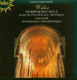 SYMPHONY NO.5 W/DAVID HILL AT WESTMINSTER CATHEDRAL ON ORGAN Audio CD, C.M. WIDOR, CD