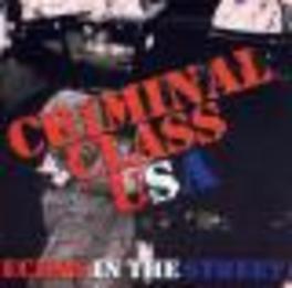 CRIMINAL CLASS Audio CD, CRIMINAL CLASS, CD
