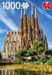 Premium Collection puzzel - Sagrada Familia View Barcelona (1000 stukjes)
